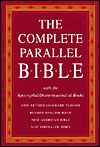 The Complete Parallel Bible with the Apocryphal / Deuterocanonical Books: New Revised Standard Version (NRSV)-Literal Revised English Bible (REB)-literary New American Bible (NAB), New Jerusalem Bible (NJB)
