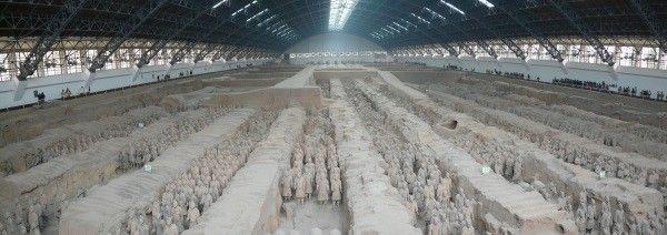 skanowanie 3D grobowiec terakotowa armia