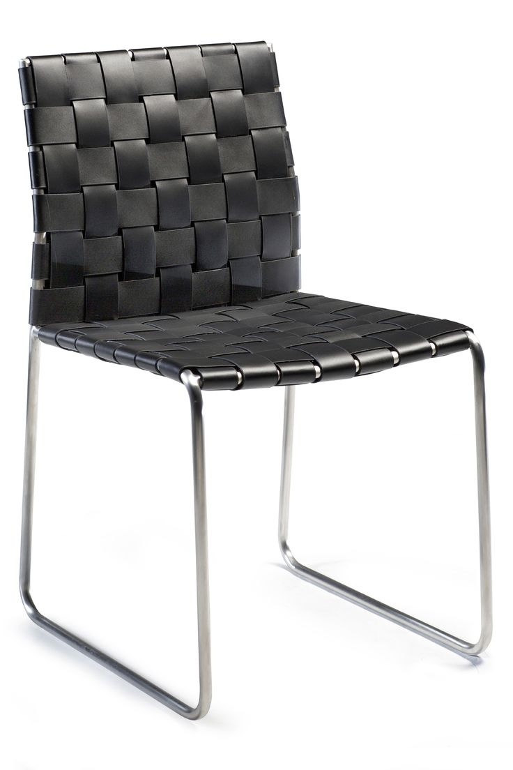 BOND chair in regenerated leather
