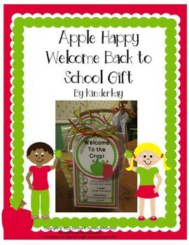 It is always fun to welcome students back to school with a gift! It creates a wonderfully warm feeling between teachers and their students. I like to give my students a gift that has a bit of meaning as well as something that might make them smile! In this resource, I have taken the word APPLE and created a simple acrostic poem that welcomes your students to your classroom and hopefully sets the tone for a positive classroom atmosphere.