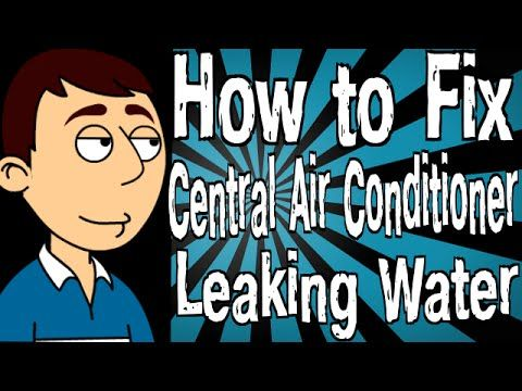 how to clean leaking aircon