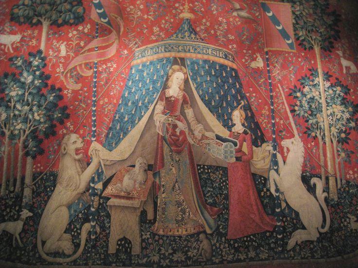 La dame la licorne a mon seul plaisir tapisseries - La tapisserie de la dame a la licorne ...