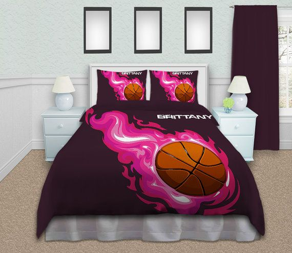 Hey, I found this really awesome Etsy listing at https://www.etsy.com/listing/190539307/basketball-bedding-sets-twin-queen-king