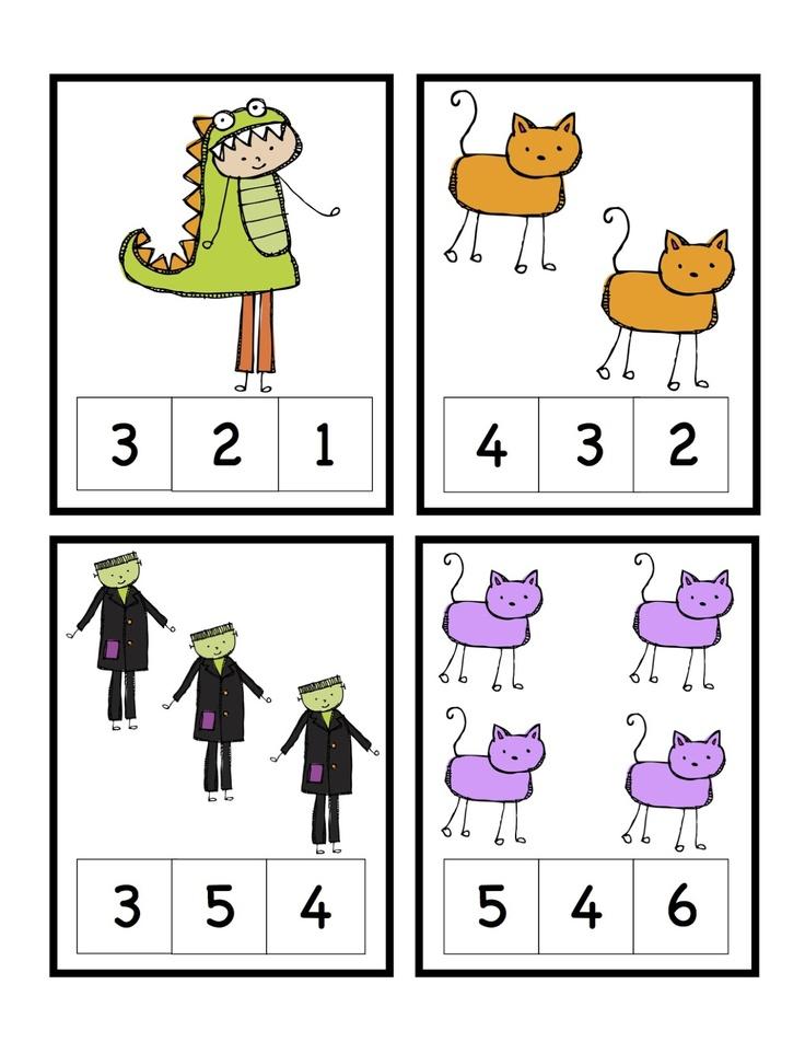 Preschool Printables: Free Halloween Printable