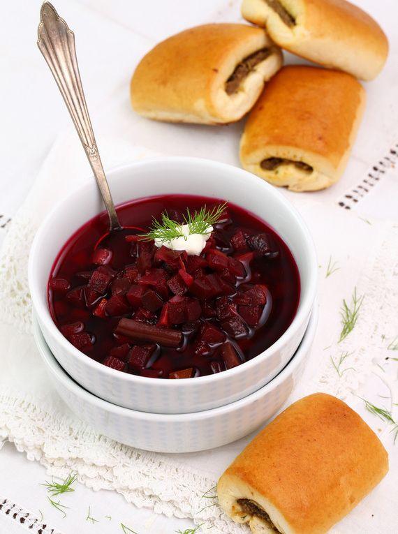 Paszteciki do barszczu ukraińskiego  #obiad #kolacja #przepisy #barszcz #paszteciki #kapusta #POLOmarket
