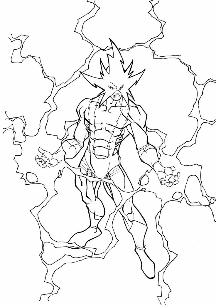 Black spiderman coloring pages games ~ Electro by carlobarberi | SPIDER-MAN web of legacy ...