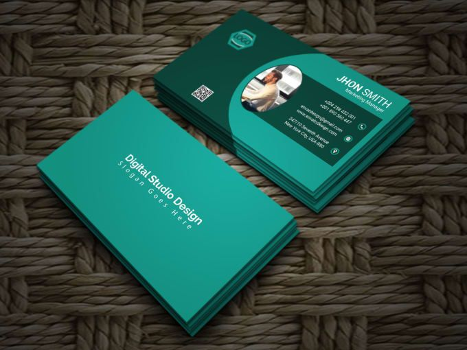 Get Everything You Need Starting At 5 Fiverr Professional Business Card Design Vistaprint Business Cards Book Design Layout
