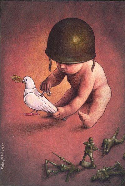 Le ciniche illustrazioni di Pawel Kuczynski - Focus.it