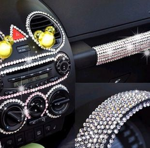 Car decoration exhaust pipe diy rhinestone pasted car stickers diamond paste cell phone rhinestone stickers accessories on AliExpress.com. $10.41
