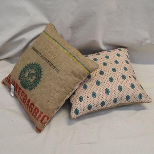 Tribal Print & coffee sack