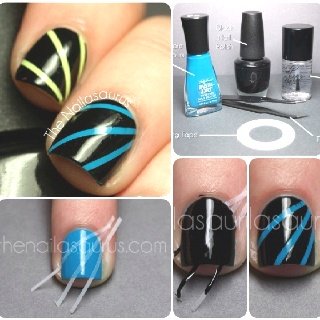 cute easy nails