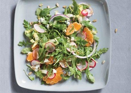 Radish Orange and Arugula Salad with Cumin Vinaigrette ...