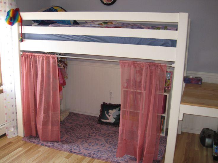 best 25 loft bed curtains ideas on pinterest loft bed decorating ideas bedroom chairs ikea. Black Bedroom Furniture Sets. Home Design Ideas