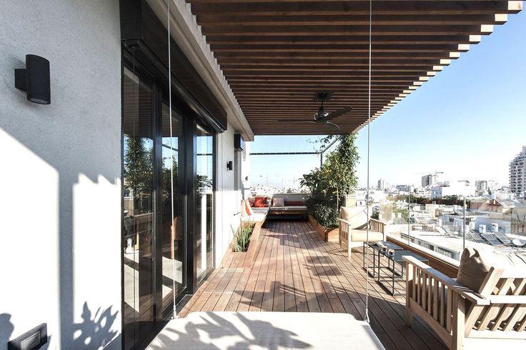 Gallery Of Cheap Apartments Tel Aviv Idea Tel Aviv Picture Gallery More Architects Duplex Aviv Penthouse Roof