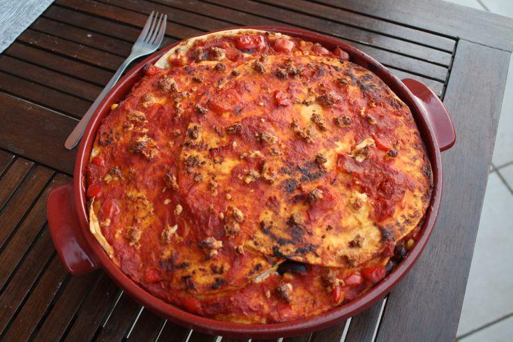 Lasagna messicana - mexican lasagna 😍