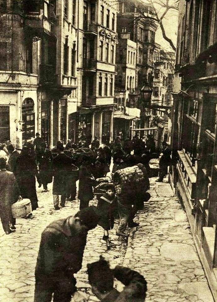 Yüksekkaldırım, 1917#istanbul #istanlook