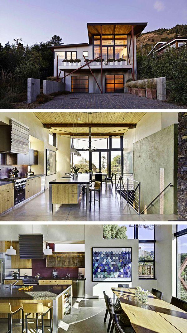 Stinson Beach House By Wa Design In California Usa