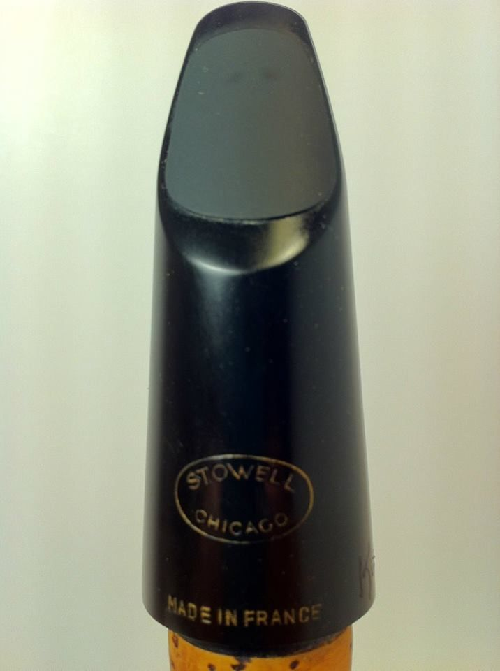 Vintage Stowell Chicago Bb Clarinet Mouthpiece refaced by Scott Kurtzweil