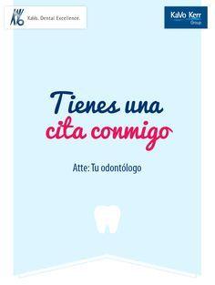 Tienes una cita conmigo.  Atte: Tu odontólogo. Tijuana Dental Spa.  Recuerda...... que la limpieza dental es dos veces al año. Agenda tu cita hoy (664)685.00.58.