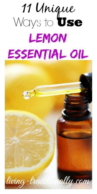 11 Unique Ways To Use Lemon Essential Oil