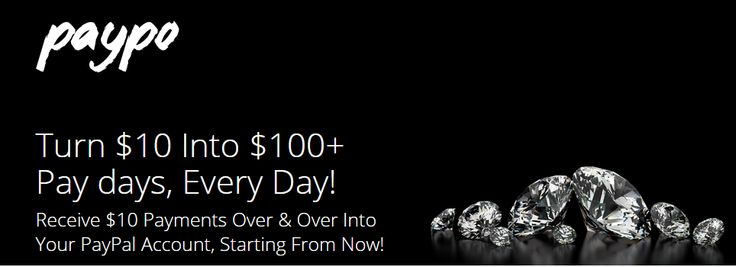 Turn $10 Into $100  Pay days, Every Day! - FREE #onselz