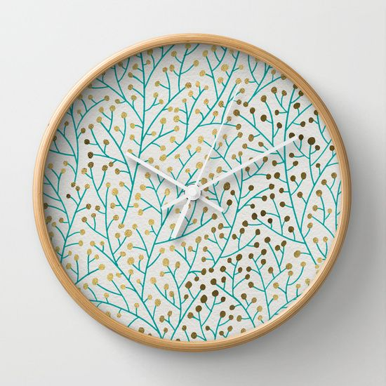 http://society6.com/product/berry-branches--turquoise--gold_wall-clock?curator=stdamos