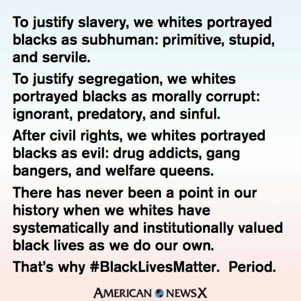 Why black lives matter is necessary