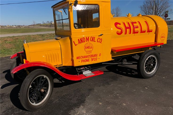 1926 FORD TT FUEL TRUCK - Side Profile - 213775