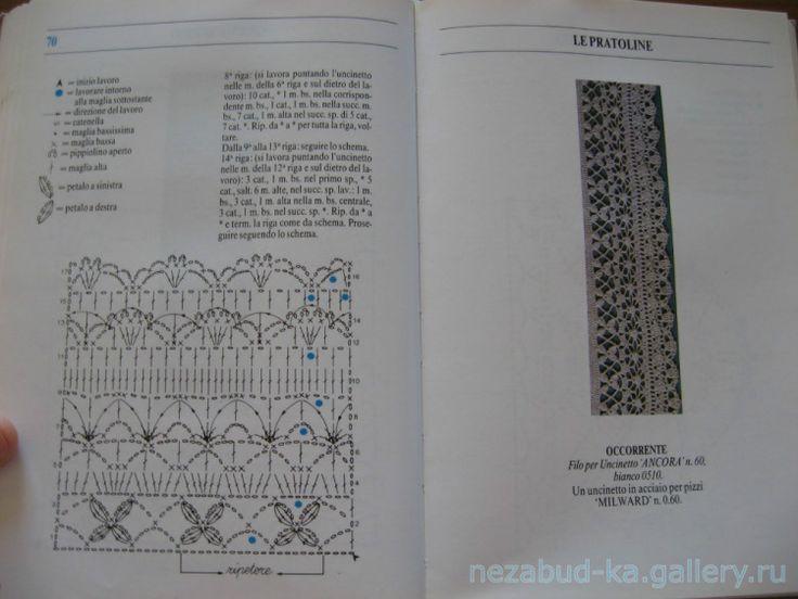 Gallery.ru / Фото #96 - 100 Pizzi All Uncinetto - nezabud-ka