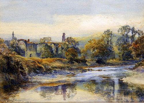 James Stephen Gresley (1829 - 1908) Bolton Abbey