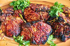 Island Pork Chops Recipe  sauce barbeque barbecue tenderloin kitchen healthy dinner dinner recipes grill meal flavor family
