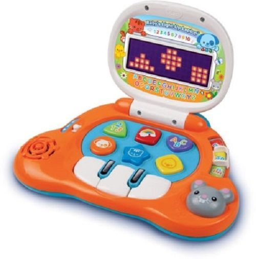 Toy Computer Laptop Tablet First Tablet Baby Development Learning Light Up #Vtech