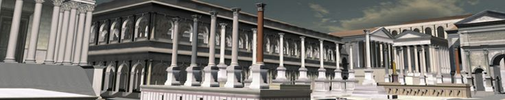 Digital Roman Forum. An amazing resource that shows 3D, 360 degree views of what the forum looked like then and now.