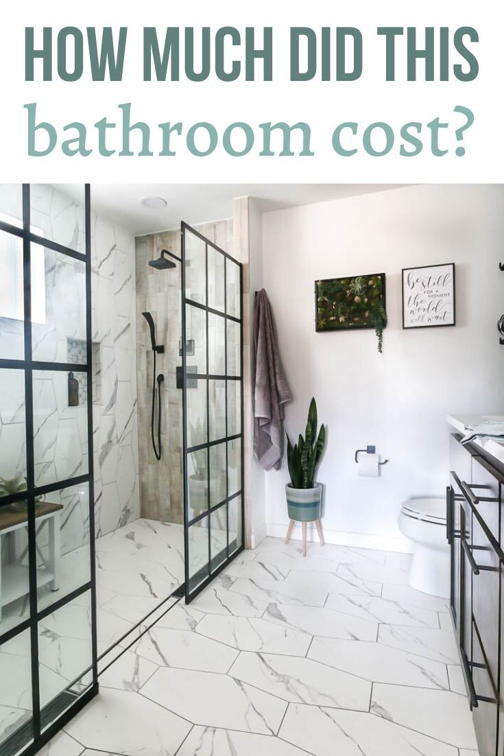 Are You Wondering How Much Does It Cost To Remodel A Bathroom In This Article We Re Sharing All The Details Of Our Recent Ma