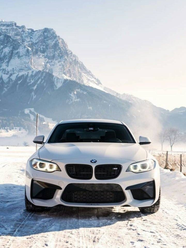 bmw m2 in de sneew.✔