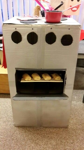 Oven surprise
