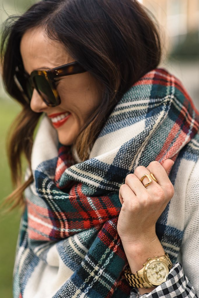 THE PERFECT CHRISTMAS SCARF FOR UNDER $35   Sequins & Things
