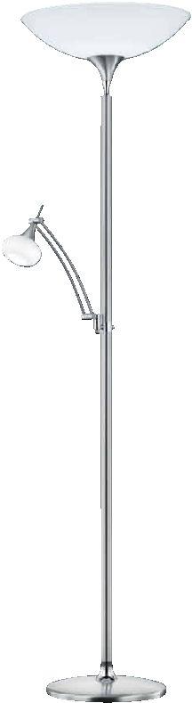 BANKAMP - Opera LED-Standleuchte mit Lesearm - 6019/2-92