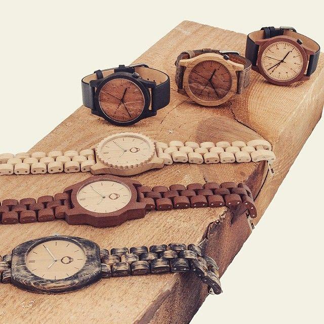 Wooden watches | plantwear.eu
