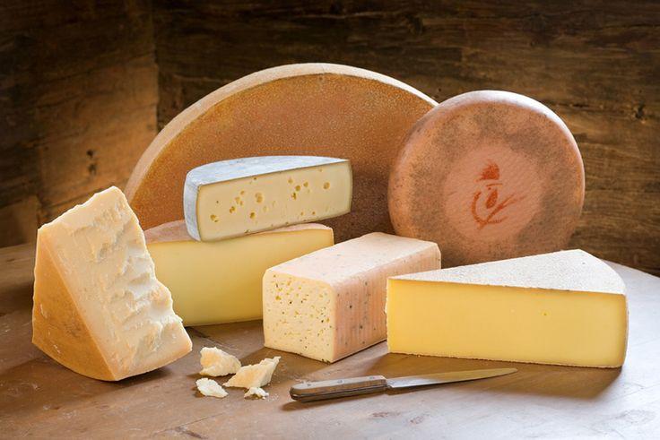 Bergkäse - queso de Austria