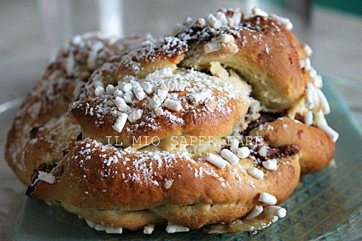 Treccia alla nutella ricetta pan brioche: perfetta a colazione o a merenda.Semplice e deliziosa non delude mai, piace a tutti per la golosità della nutella