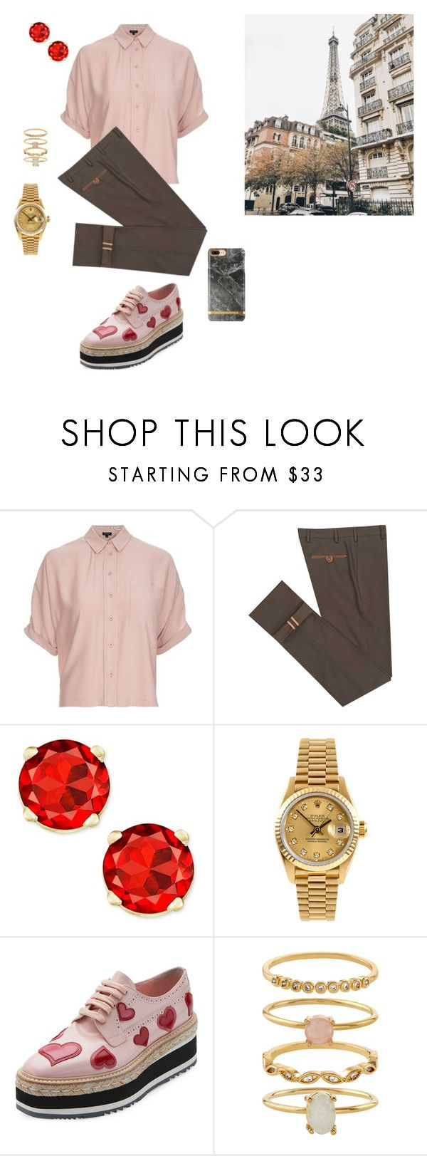 """Best Love"" by williamsonmia on Polyvore featuring Topshop, Diverso, Rolex, Prada and Accessorize"