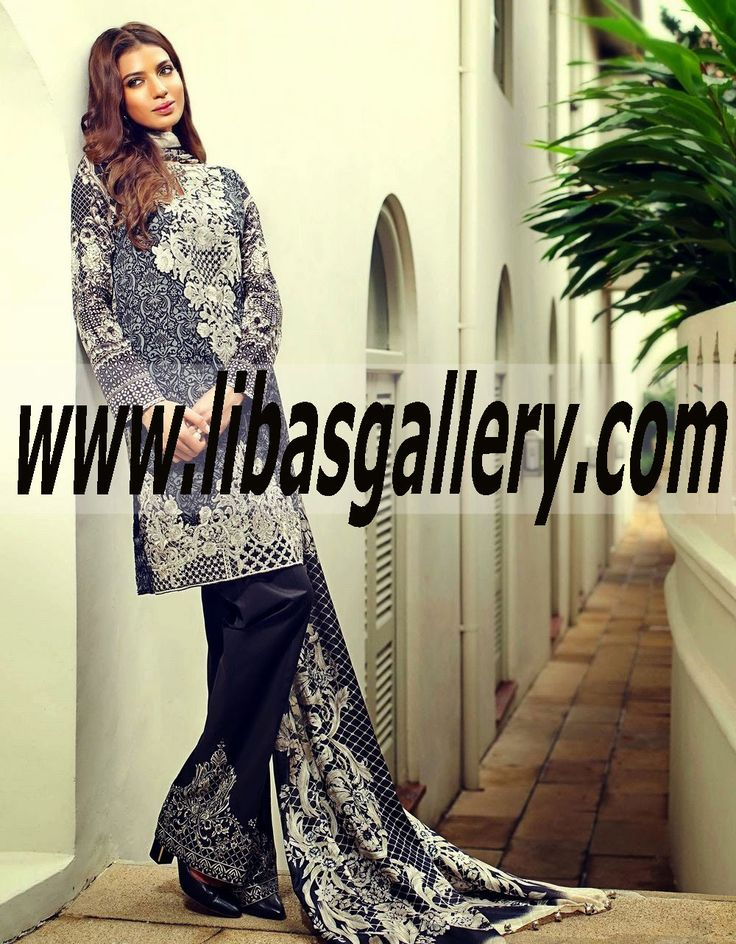 10 best images about pakistani lawn dresses online with for Best international online shopping sites
