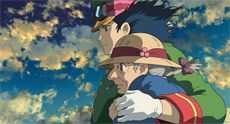 I love Studio Ghibli. This is from Howl's Moving Castle. Just one of many awesome Japanese animated gems.
