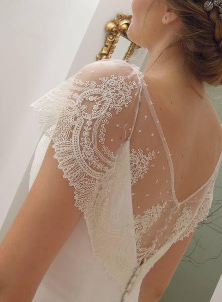 Mangas vestidos Alta Costura