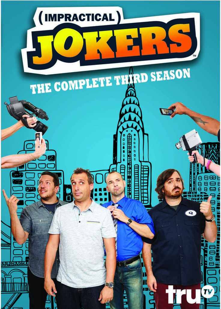 Impractical Jokers Season 3 Giveaway