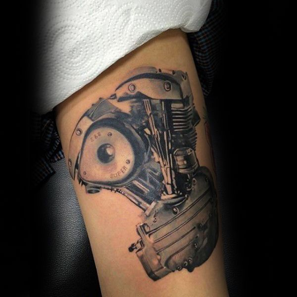 50 Engine Tattoos For Men