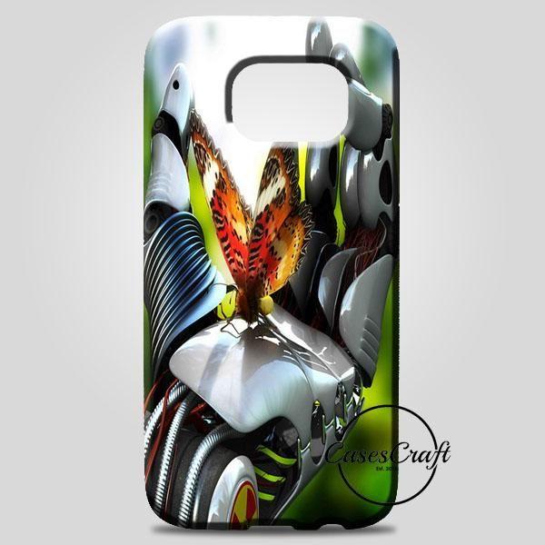 Butterfly At HandS Robot Samsung Galaxy Note 8 Case | casescraft