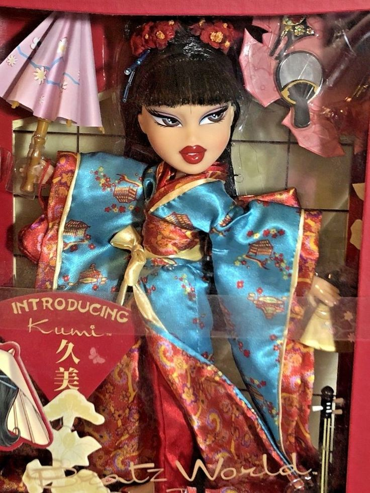 MGA Bratz World Collectors Edition Tokyo Japan Kumi Doll