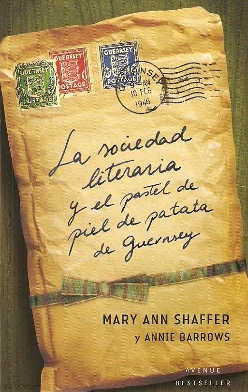 """Libros que voy leyendo: """"La sociedad literaria y el pastel de piel de pata..."""
